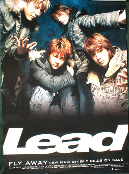 Lead 「 FLY AWAY」のポスター