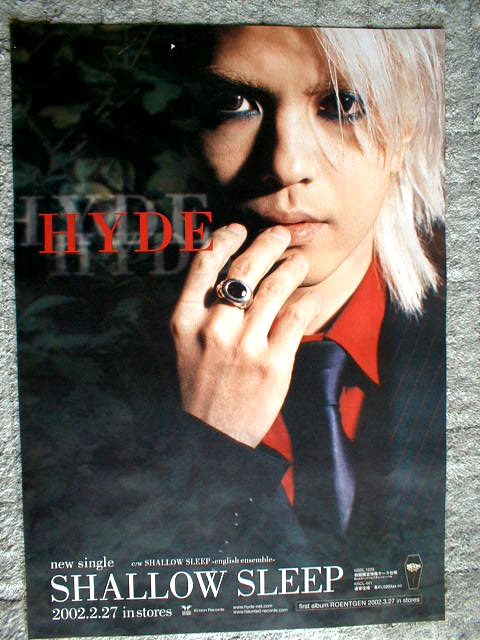 HYDE 「SHALLOW SLEEP」のポスター