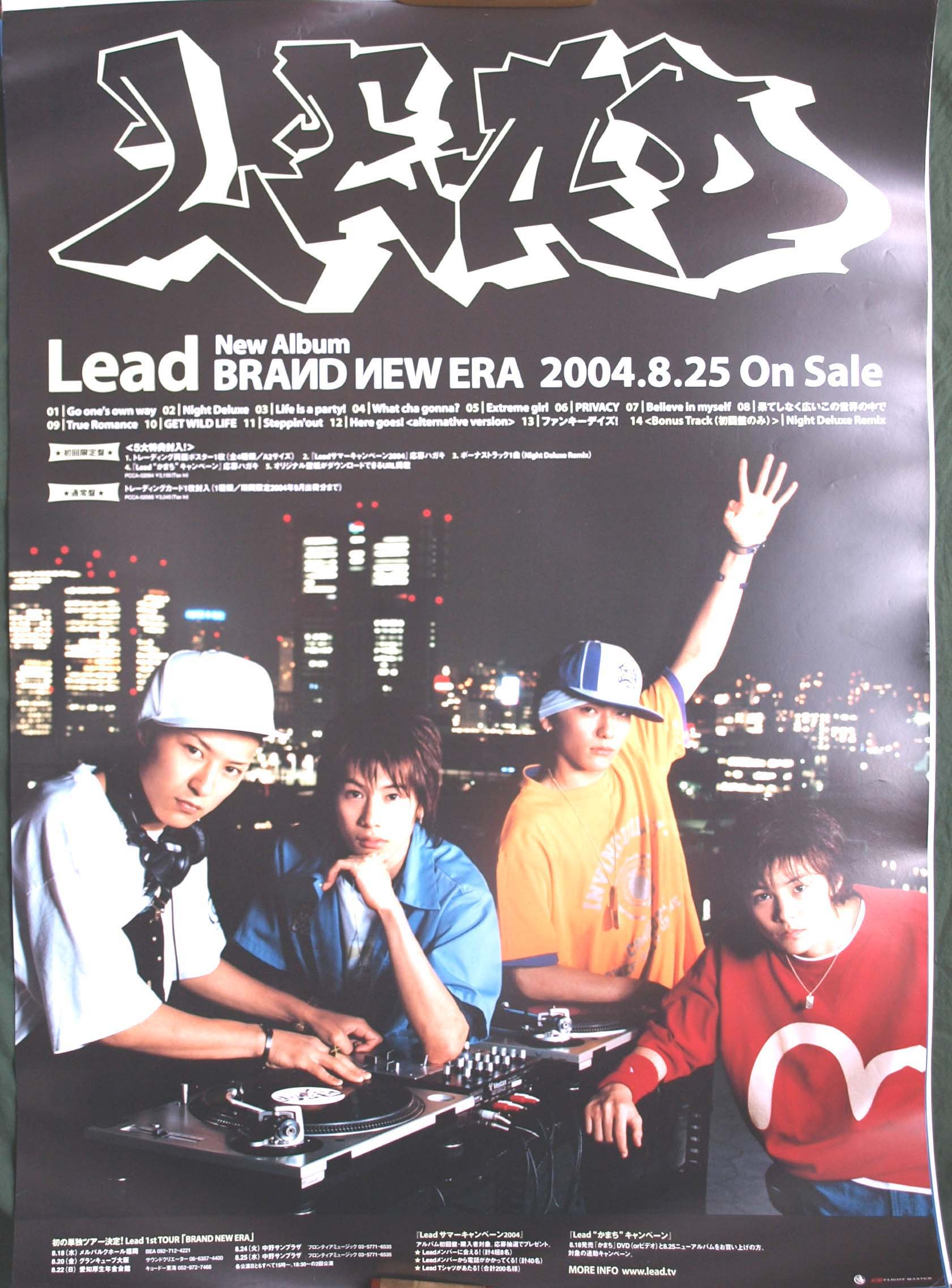 Lead 「BRAND NEW ERA」のポスター