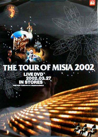 MISIA 「THE TOUR OF MISIA 2002」のポスター