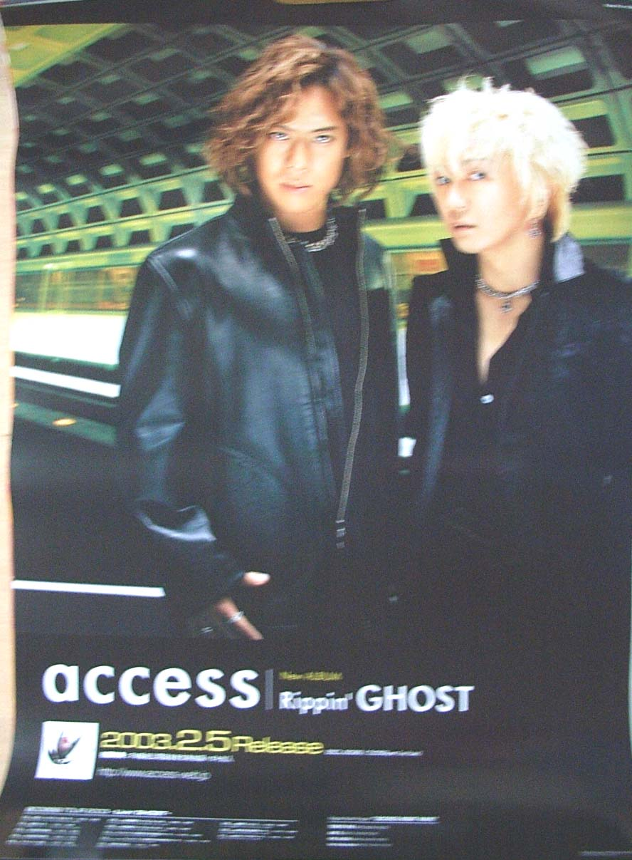 access 「Rippin' GHOST」のポスター