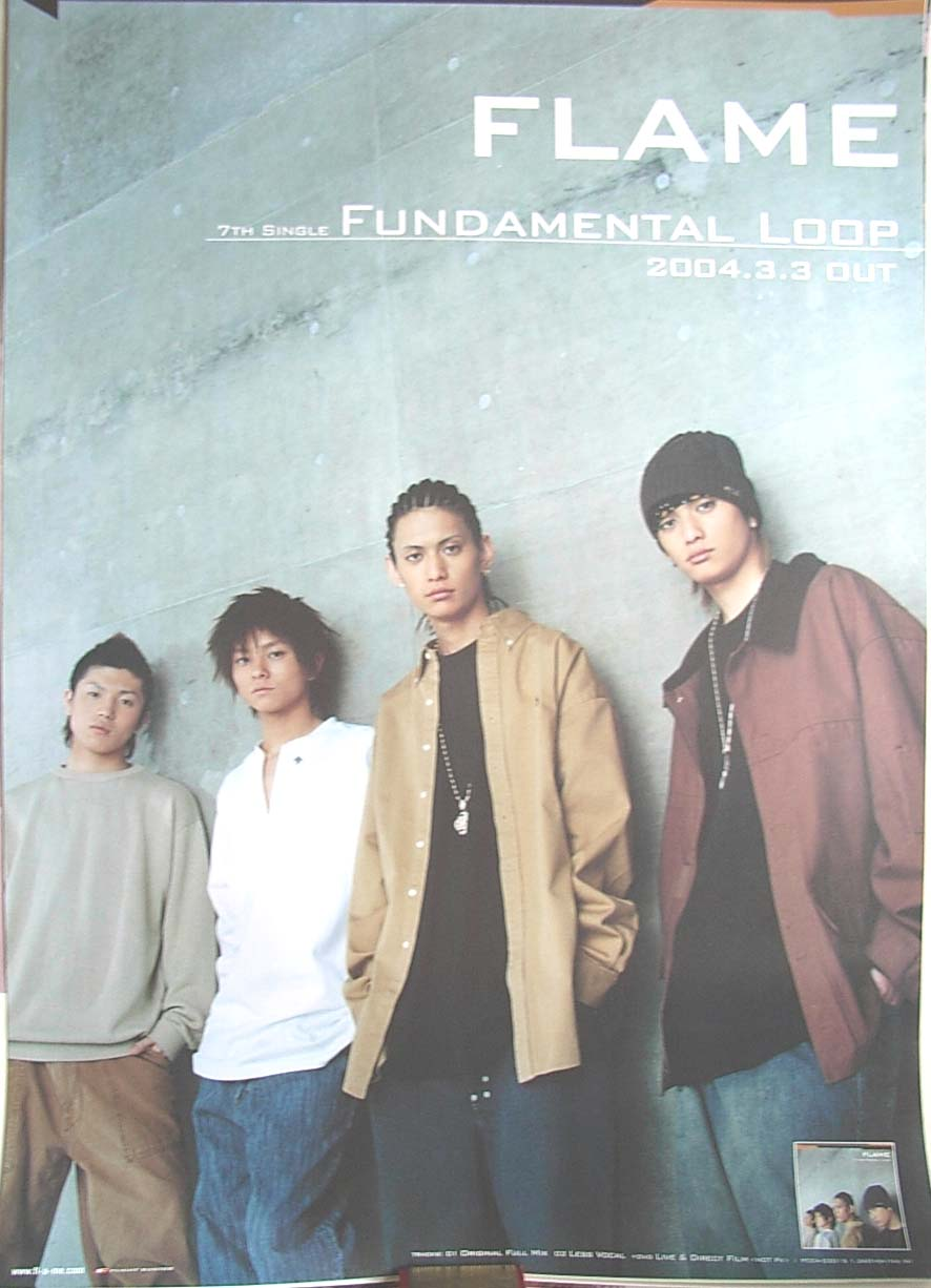 FLAME 「FUNDAMENTAL LOOP」のポスター