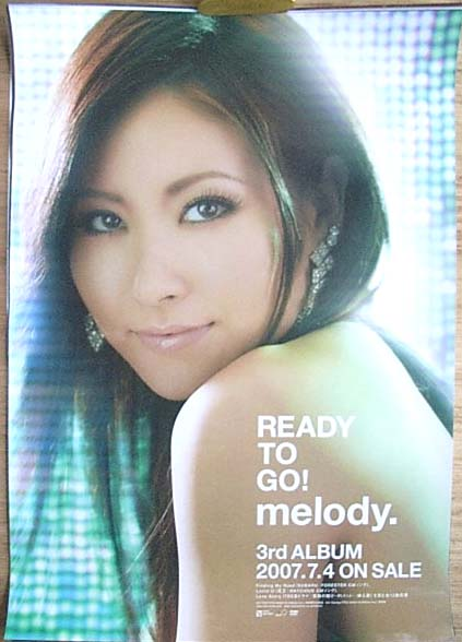 melody. 「READY TO GO!」 のポスター