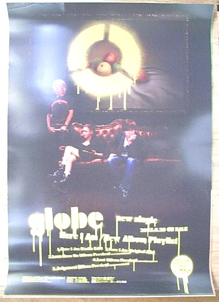 globe 「Here I Am/New Album Playlist」のポスター
