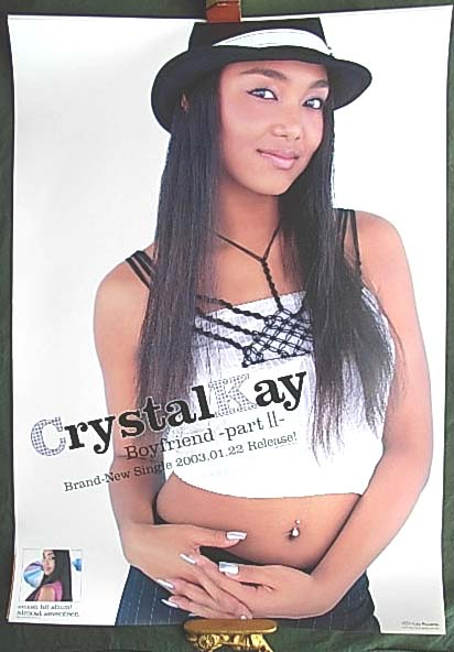 Crystal Kay 「Boyfriend -part?-」のポスター