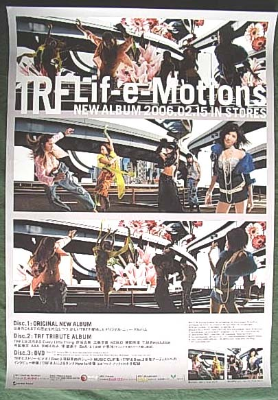 TRF 「Lif-e-Motions」のポスター