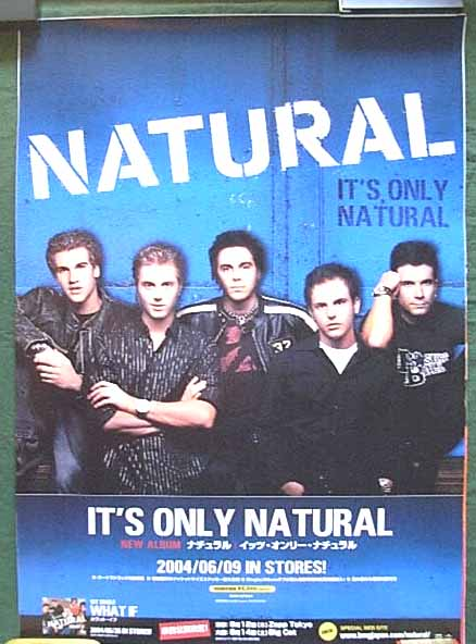 Natural (ナチュラル) 「It's Only Natural」のポスター