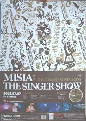 MISIA 「THE SINGER SHOW」のポスター